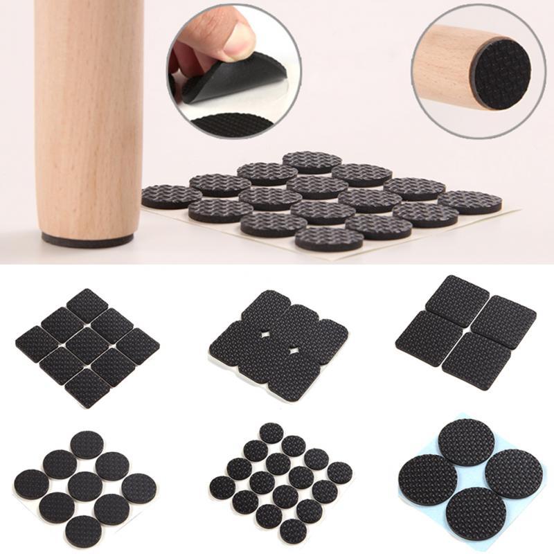 Rubber furniture pad arrow t50 staples 10mm