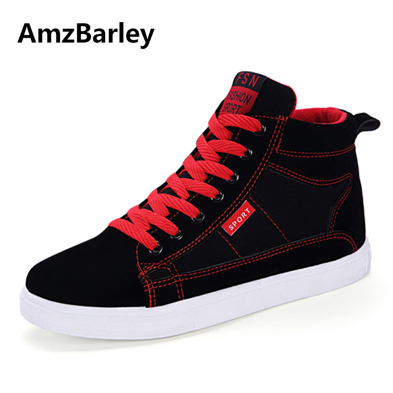 AmzBarley Men Shoes Flats Shoe Graffiti Footwear High Top Lace Up Casual Trainers Male Hip Hop Zapatillas Deportivas Hombre fonirra new fashion high top casual shoes for men ankle boots pu leather lace up breathable hip hop shoes large size 45 728