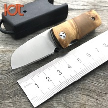 LDT Mini EDC Folding Knife Original Handle 8Cr13Mov Blade Hunting Survival Rescue Knives Utility Outdoor Military pocket Knife