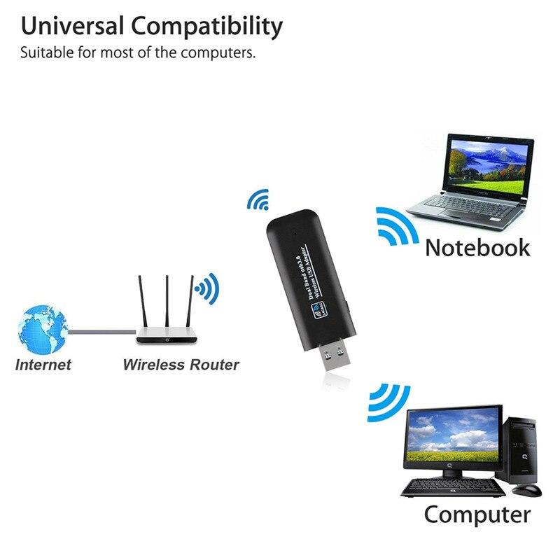 Usb Wireless Wi-fi Netzwerk Tv Karte Wlan Lan Adapter Wifi Dongle Empfänger 2,4g 5g 300 Mt Für Samsung Smart Tv KöStlich Im Geschmack Tragbares Audio & Video Unterhaltungselektronik