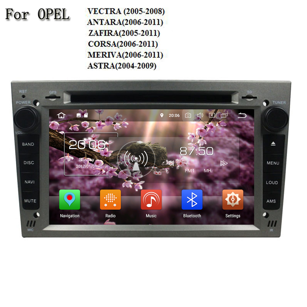 7 Android 8.0 RAM 4G ROM 32G 8 Core Wifi GPS Navi Radio BT Car DVD Player For Opel VECTRA/ ANTARA/ ZAFIRA/ CORSA/ MERIVA/ ASTRA ownice c500 4g sim lte octa 8 core android 6 0 for kia ceed 2013 2015 car dvd player gps navi radio wifi 4g bt 2gb ram 32g rom
