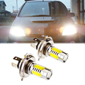 2Pcs 7.5W H4 LED Bulb Car Work Light Car Auto Front Headlight Headlamp Fog Driving Lamp Light 6000K for Audi Honda  DC 12V