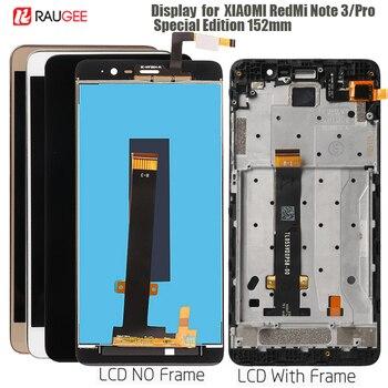Para Xiaomi Redmi Note 3 Pro edición especial SE pantalla LCD pantalla táctil para Xiaomi Redmi nota 3 mundial especial versión LCD 152mm