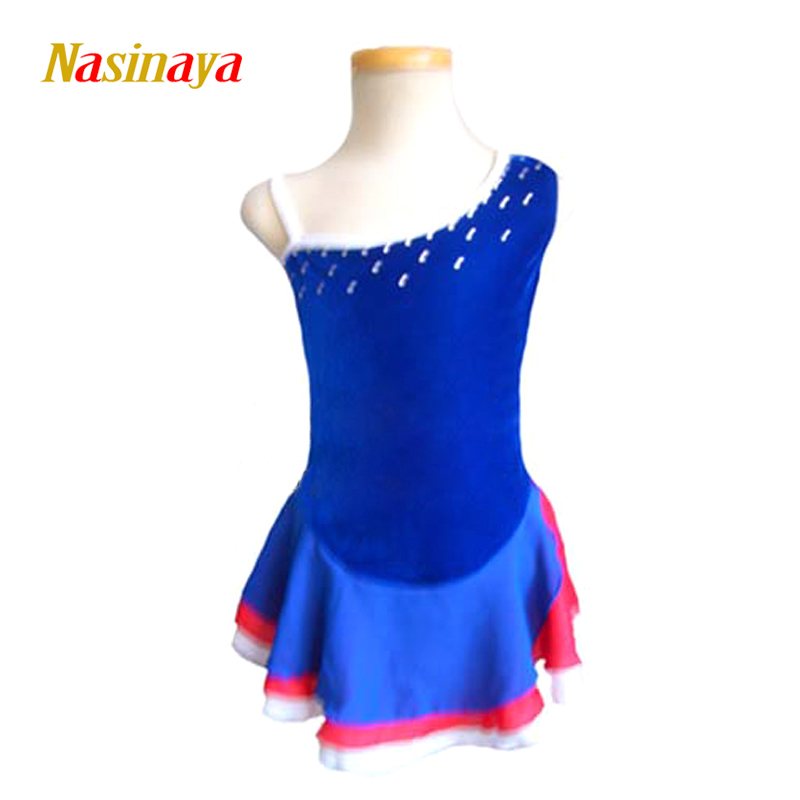 Nasinaya Figure Skating Dress Customized Competition Ice Skating Skirt for Girl Women Kids Patinaje Gymnastics Performance 190Nasinaya Figure Skating Dress Customized Competition Ice Skating Skirt for Girl Women Kids Patinaje Gymnastics Performance 190