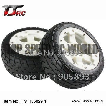 5B Front Highway-road Wheel Set With Nylon Super Star Wheel(TS-H85029-1) x 2pcs for 1/5 Baja 5B, SS  , wholesale and retail 5b front highway road wheel set ts h95086 x 2pcs for 1 5 baja 5b wholesale and retail