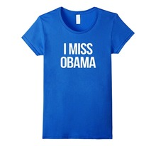 Funny Casual Brand Shirts Top MenS I Miss Obama  Printed O-Neck Short Sleeve Tee