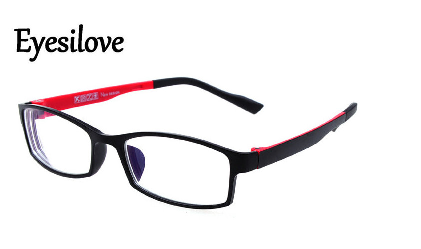 7d0f5dda6d Eyesilove TR90 finished Myopia Glasses Men Women nearsighted glasses  prescription -1.00