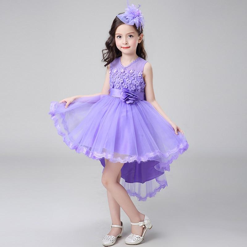 Vestido de fiesta chica edad 3 a 12 años Vestidos de flores de niña ...