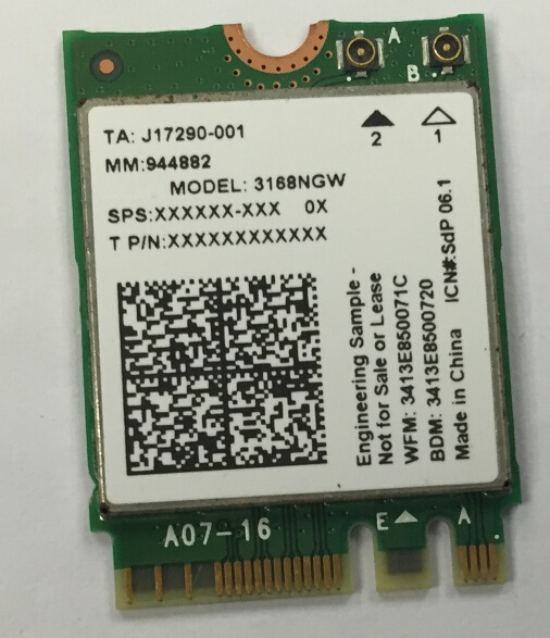 ssea new for intel 3168ngw 802 11ac ngff m 2 wireless wifi bluetooth