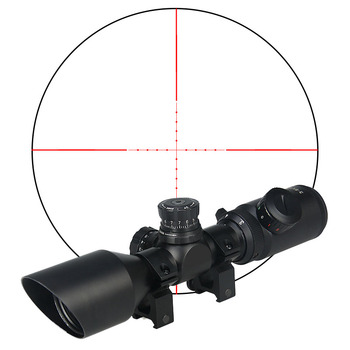 Hunting rifle air soft 3-9x42 rifle scope 25.4mm holographic sight for shooting waterproof scope GZ10275