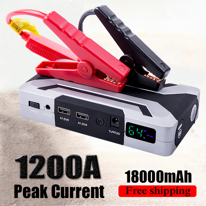 HAMBAR jump starter for Petrol 8.0L Diesel 6.0L Car Booster peak 1200A car battery booster power bank 12V start device for car(China)