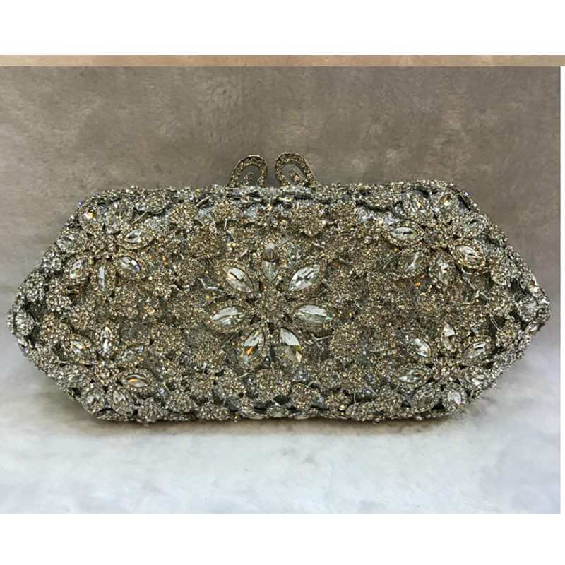 gold red diamond Crystal Evening Bags Clutch Bag Women bridal cocktail prom party day Clutches Lady banquet bag Handbag Purse women red gold blue diamond evening bags gold clutch hard box clutches bags day clutch party purse wedding bridal bag women bags