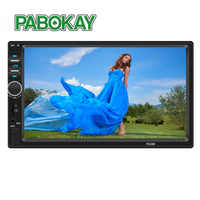 7018B Car Audio 7 Inch 2 DIN Autoradio Stereo Touch Screen Auto Radio Video MP5 Player Support Bluetooth TF USB FM AUX