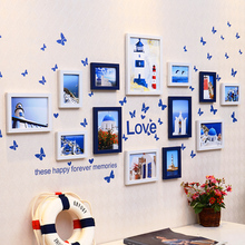 AIBOULLY European Stype Home Design Wedding Love Photo Frame Wall Decoration Wooden Picture Set