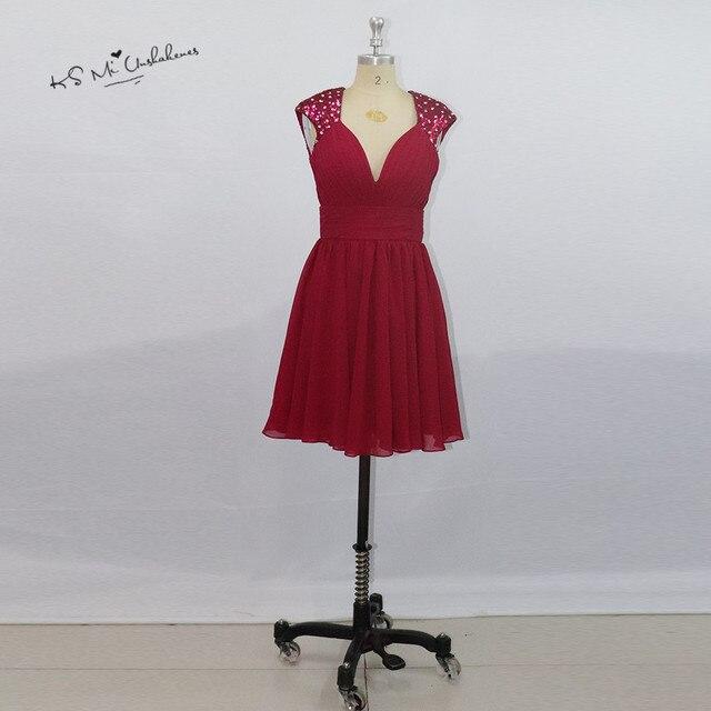 38cb3dfedb Vestidos de Festa Curto Para Formatura Red Sequins Mini Homecoming Dresses  Semi Formal Cocktail Party Dress 2017 Backless Silver