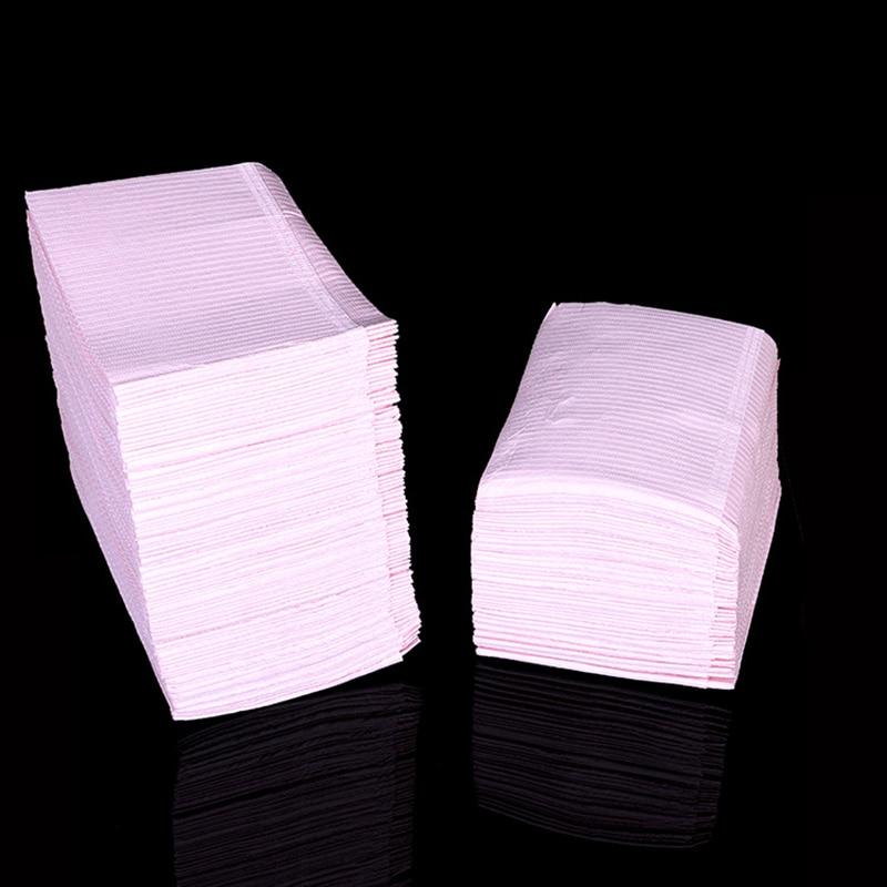 500 шт. одноразовые чистый коврик Водонепроницаемый скатерти мат Underpad гигиены личные медицинские татуировки стол 45*33 см