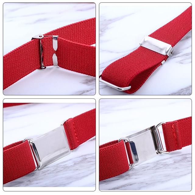 Fashion Elastic Canvas Belt for Boys 5