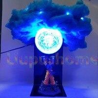 Dragon Ball Son Goku Genki damaSpirit Bomb Led Light Bulb Toys Anime Dragon Ball Super Led Lights Decorative Desk Lamp