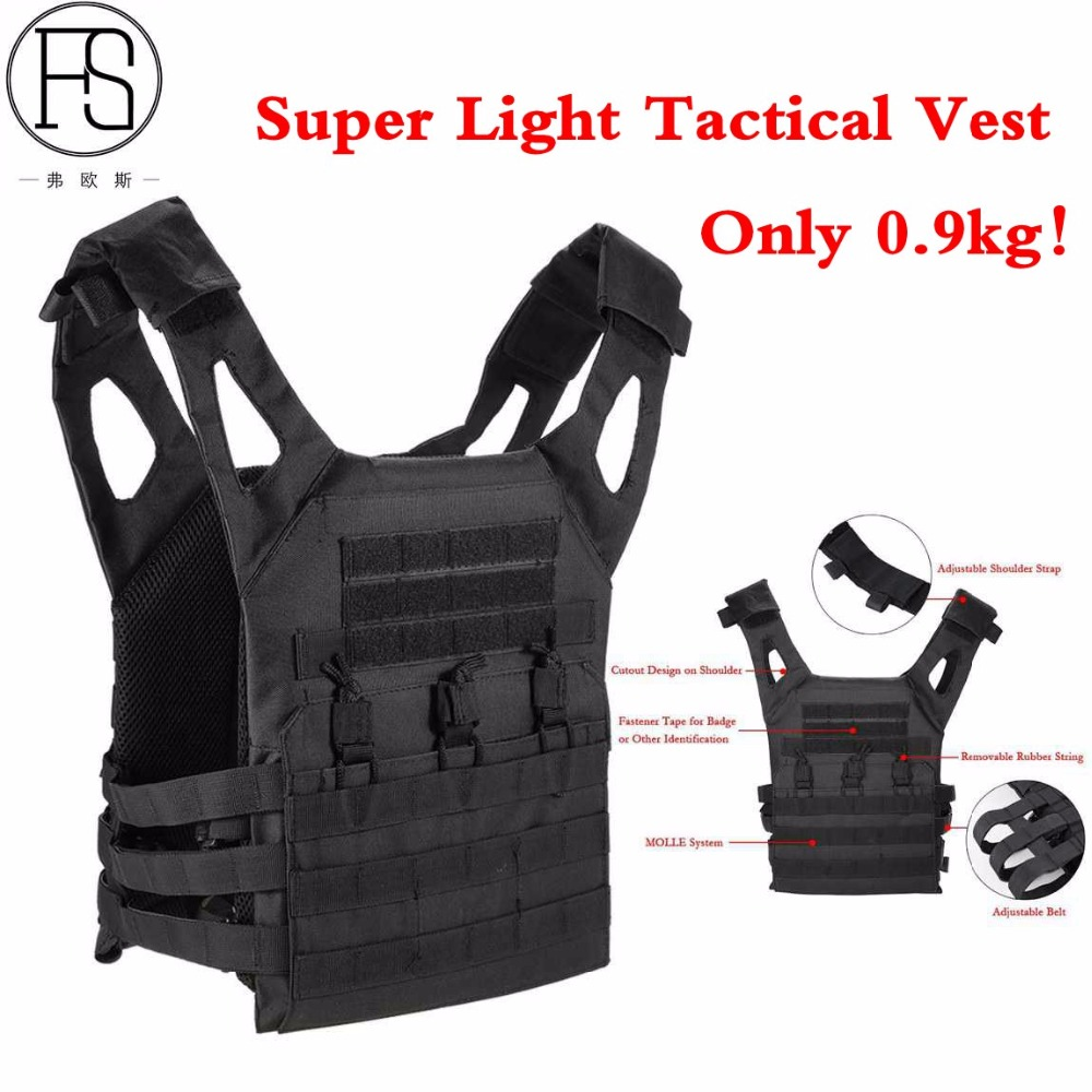 Outdoor CS Military Tactical Plate Carrier Ammo Chest Rig JPC Vest Airsoftsports Paintball Gear Body Armor For Hunting Equipment