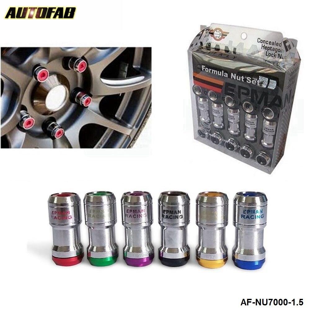 TITANIO-EPMAN RACING IN ACCIAIO RUOTA Acorn Lug Nuts-JDM-M12 x 1.25 UK