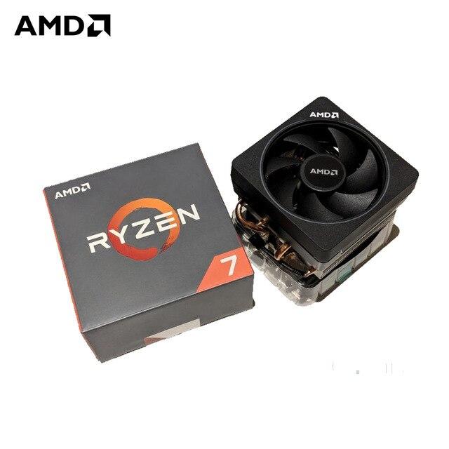 AMD Ryzen 7 1700X AMD Ryzen série 3.4 ghz Socket AM4 PC CPU 14 nm Sommet Crête ry zen R7 1700X CPU De Bureau processeur