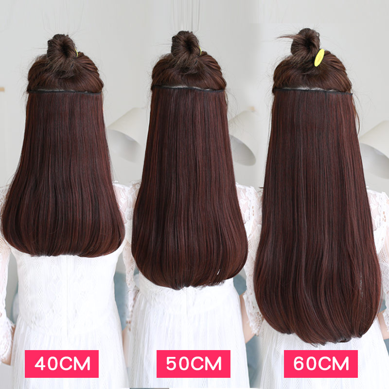Shangke 24 180g Clip In Hair Extension Pure Faux Hair Items Warmth