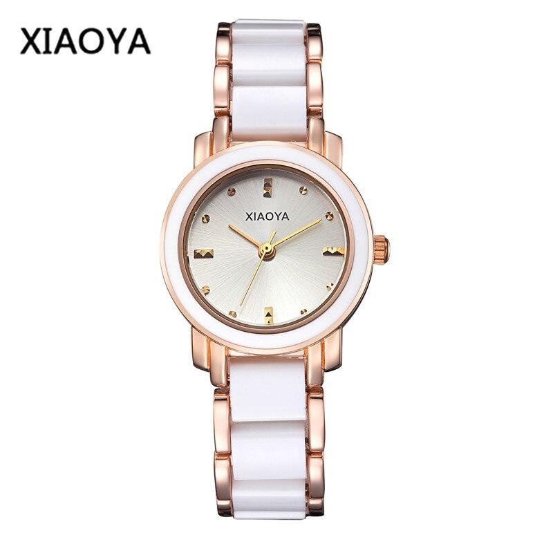 bfbd3482d5ce Top Brand Fashion Ladies vestido reloj de cerámica Relojes para las mujeres  de lujo mujer pulsera Relojes Relogio feminino regalo