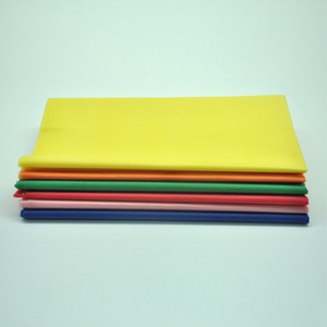 Image 3 - 137*183cm Plastic Tablecloths Table Cover Party Decor Solid Color Disposable Red/Pink/Orange/Blue/Yellow/green waterproof cloth