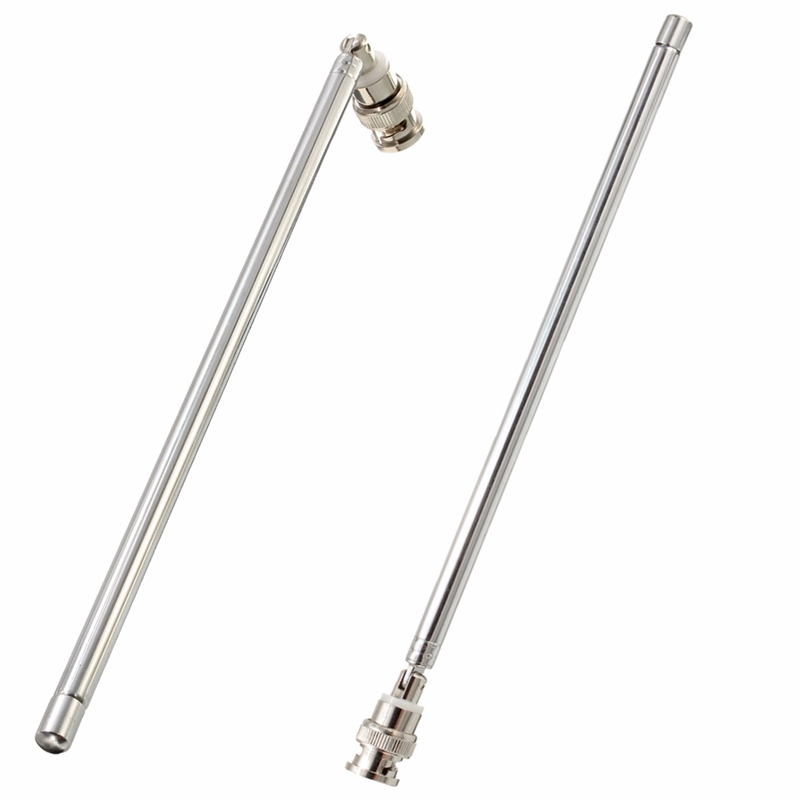 Adjustable Telescopic Antenna 110cm Max Length Q9 BNC Connector Portable FM Radio Scanner Antenna VHF UHF Mobile Phone Antenna