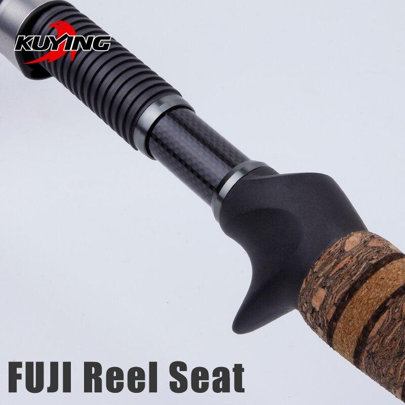 Image 3 - KUYING Teton L Light 1.98m 66 Soft Casting Spinning Lure  Fishing Rod Pole Cane Carbon Medium Fast Action Trout 2 10g Lure  FUJIFishing Rods