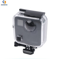Underwater 45M Waterproof Case Housing Diving protective shell cover For GoPro Fusion 360 water sports Action Camera Accessories