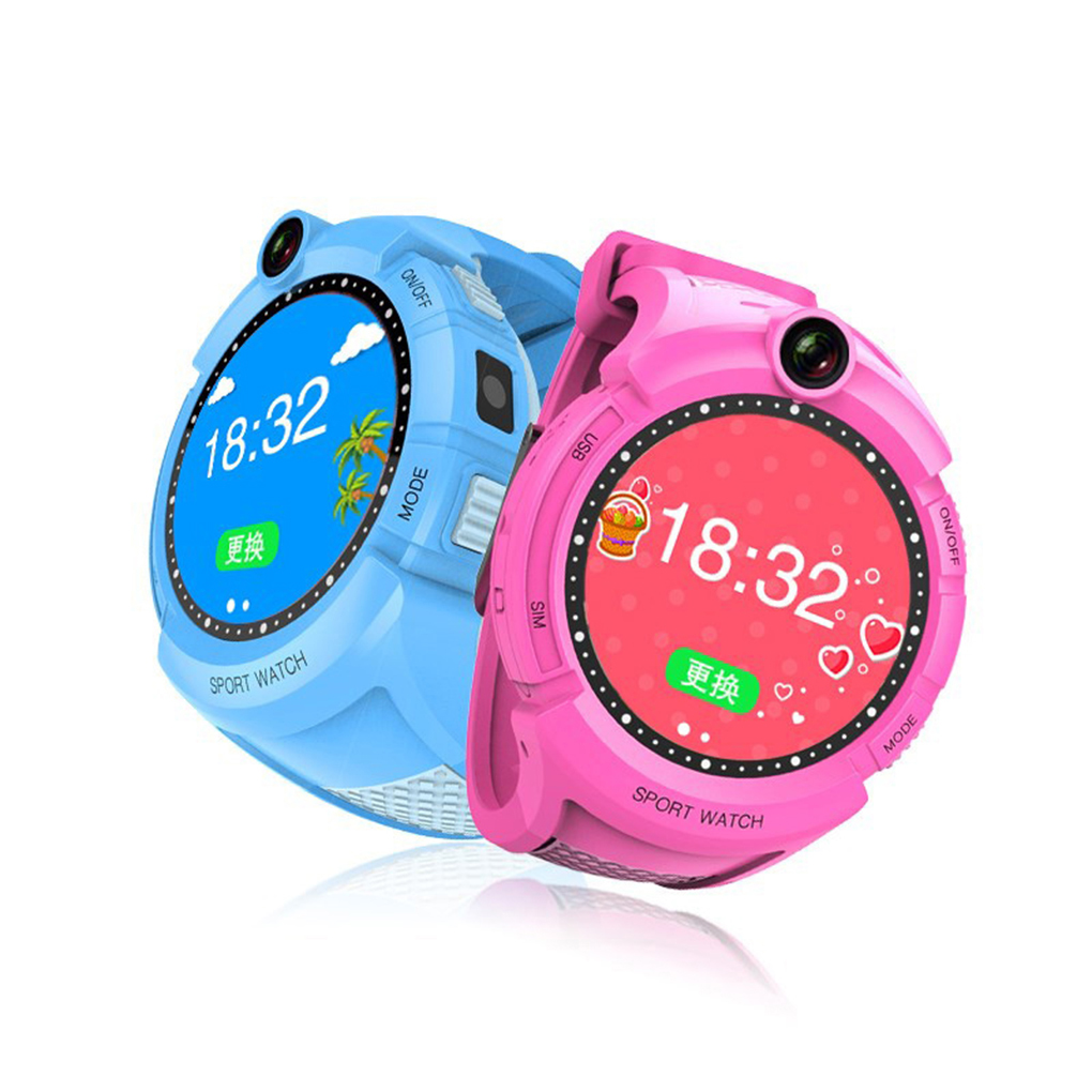 Smart Watches Round Dial Touch Screen Smartwatch Anti-Lost Tracker Baby Wrist Watch Kids Child Q360 new x6 smartphone watch 1 54 curved touch screen smartwatch phone facebook sync mp3 pedometer smart watch anti lost watches