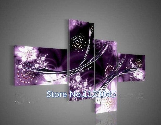 Artesanal de costura DIY diamante pintura Cruz puntada costura envío 5d DIY diamante pintura 4 Unidades AZ443