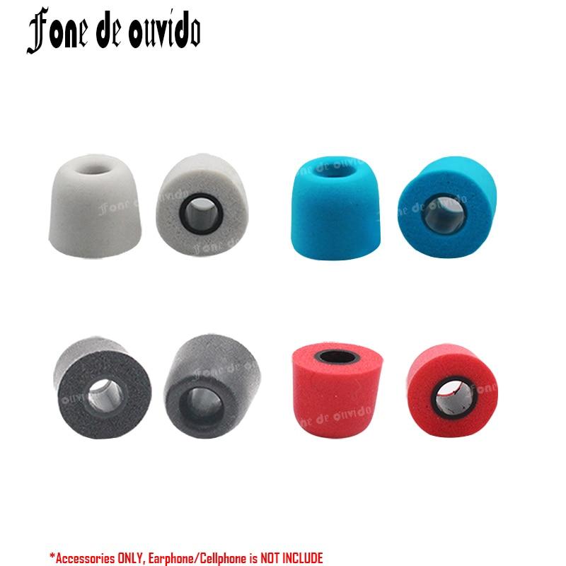 Memory Foam Earphone Caps Cover In Ear Eartips Sponge Tips Ear Pads Earbuds Cups For Headset Headphone Earplug Easy To Repair Fashion Style T200 4mm Hole