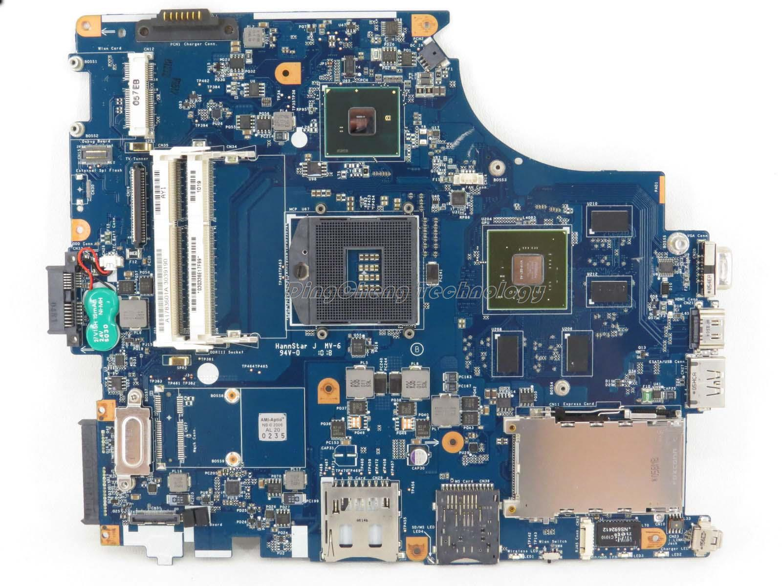 цена на SHELI MBX 215 laptop Motherboard For Sony M931 MBX-215 1P-0104500-8011 A1783601A REV 1.1 non-integrated graphics card