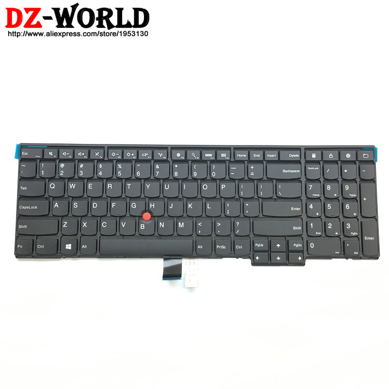 New/Orig US English Keyboard For Lenovo Thinkpad P50S T560  W540 T540P W541 T550 W550S L540 L560 Teclado 04Y2426 04Y2348 0C44991