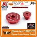 CRF Engine Timing Plug  Fit CRF150R CRF250R CRF450R CRF450X Motorcycle Dirt Bike Motocross Free Shipping