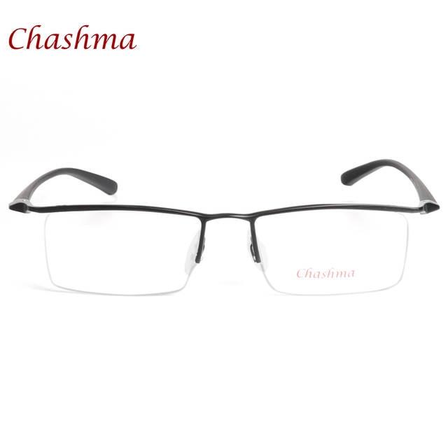 71bff547993 placeholder Chashma Brand Simple Design Titanium Alloy Eyeglass Male Glasses  Spectacle Frame for Men