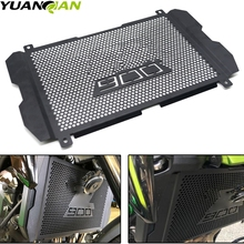 цена на Motorcycle Stainless Steel Radiator Grille Guard Protection for KAWASAKI Z900 Z 900 2017 2018 Bezel engine grill guard cover