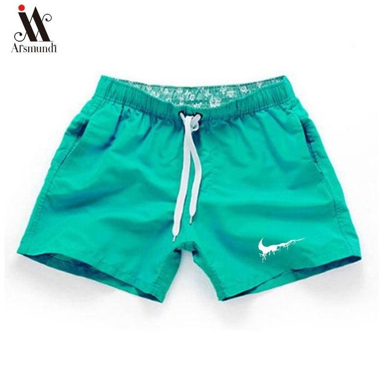 2019 Summer Men Beach Short Brand Printing Casual Shorts Men Fashion Style Mens Just Break It Shorts  Beach Plus Size 3XL