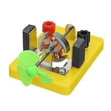 DIY ветрогенератор электромагнетис модель для эксперимента DC электрическая цепь постоянного тока двигатель модель научная игрушка