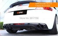 Сзади губ Дизайн для Audi TT ТЦ ASP Стиль углерода Волокно Материал