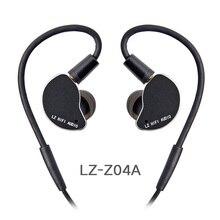 2019 lz z04a 이어폰 형 다이나믹 드라이브 hifi iem 메탈 헤드셋 이어 버드 분리형 분리형 mmcx 케이블 mmcx 분리형