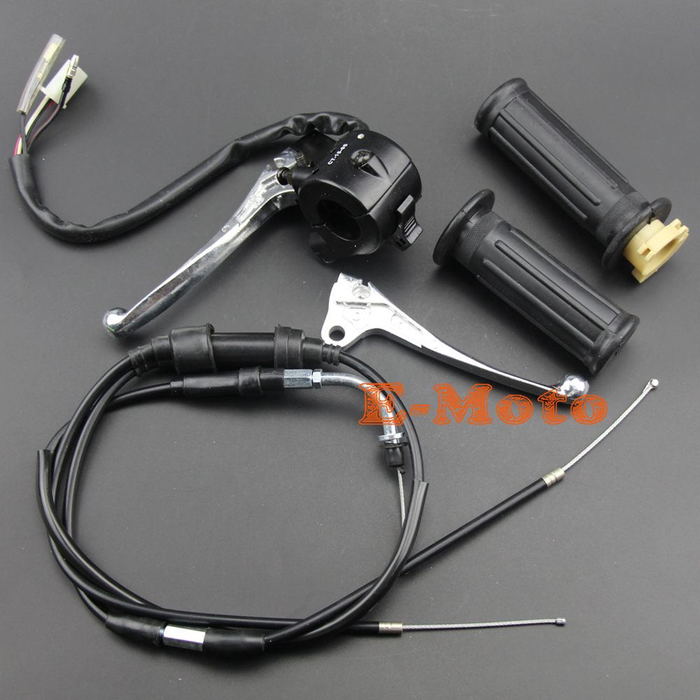 Image 2 - THROTTLE HOUSING KILL SWITCH BLOCK BRAKE LEVER GRIPS THROTTLE CABLE FOR PW50 PY50 PY PEEWEE PW 50 Y ZINGER E Moto-in Motorbike Ingition from Automobiles & Motorcycles
