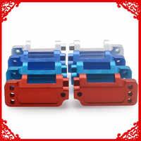 2 pièces Alliage blocs Roulants porte-moyeu avant pour passe-temps rc modèle voiture 1/10 Traxxas Slash 2WD court cours pièces de mise à niveau