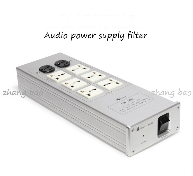LB-3300 filter HIFI power processor American Standard lightning protection socket wavelets processor