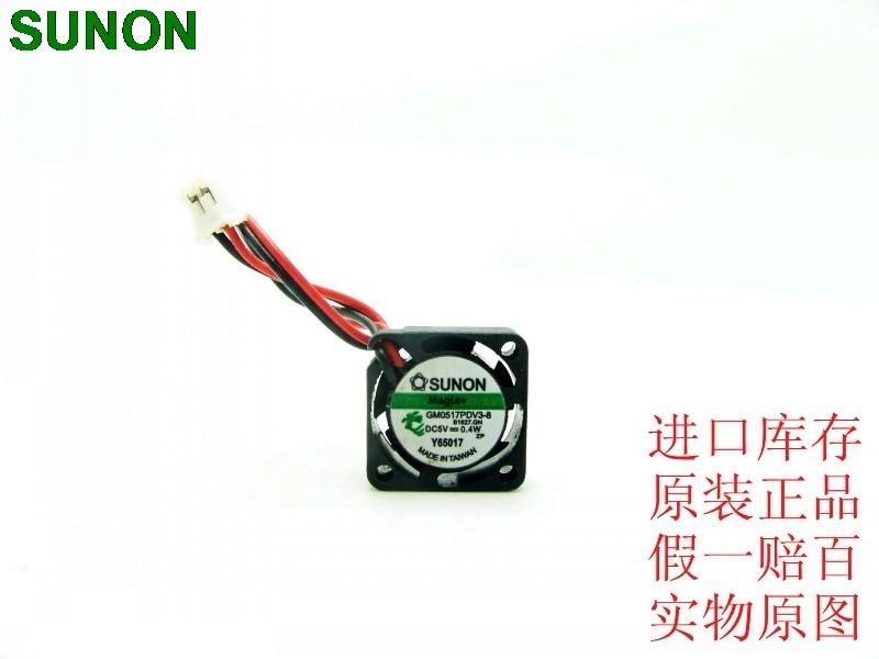 SUNON GM0517PDV3-8 17mm 1.7cm dc 5v 0.4w LED mini projector cooling fans