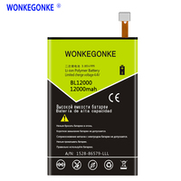 WONKEGONKE For Doogee BL12000 Battery BL12000 PRO High quality mobile phone battery with tracking number