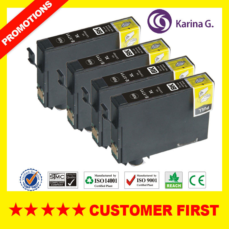 T1711 T1711-T1714 Compatible Ink Cartridge For Epson XP-33 XP-103 XP-203 XP-207 XP-303 XP-306 XP-403 XP-406 XP-313 XP-323 Etc.