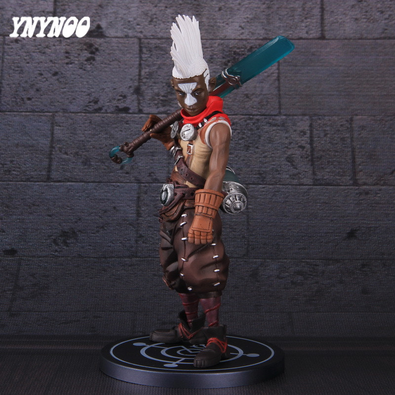 YNYNOO Movie Game Figure Ekkos Model Halle, Anime Time Assassin Dolls Action & Toys Figure Decoration toy For Collection AF118
